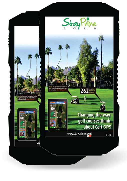 StayPrime - Golf Cart GPS & Cart Management Solutions on gps for farm equipment, gps golf ball, gps for 4 wheelers, gps for jewelry, gps for boats, golf push carts, driving range golf carts, gps for hearing aids, gps for jet skis, gps for golf courses, gps for construction, gps for shoes,